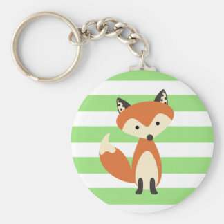 Foxy Fox Standard Runder Schlüsselanhänger