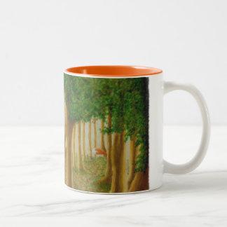 Foxy WaldTasse Zweifarbige Tasse