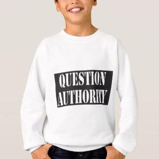 Fragen-Berechtigung Sweatshirt