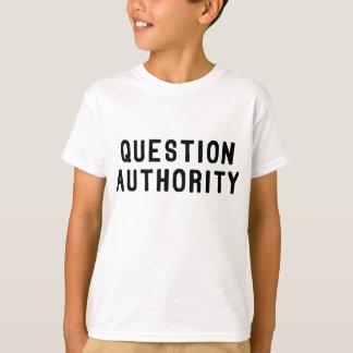 Fragen-Berechtigung T-Shirt
