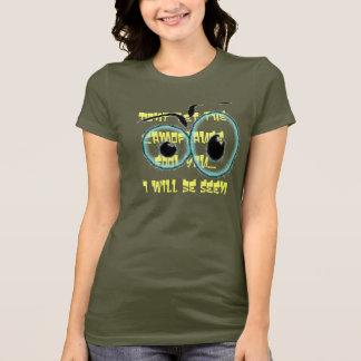 fragen Sie Augen, lassen Sie nicht den Camoflauge T-Shirt
