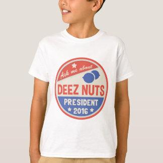 Fragen Sie Deez Nüsse T-Shirt