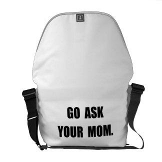 Fragen Sie Mamma Kuriertasche