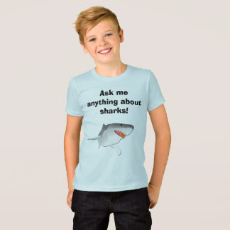Fragen Sie mich allen über Haifische! T-Shirt