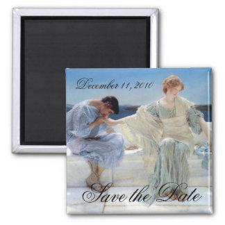 Fragen Sie mich nicht mehr, Alma Tadema, Save the Quadratischer Magnet
