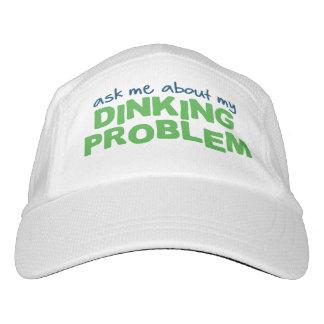 """""""Fragen Sie mich über mein Dinking Problem"""" Headsweats Kappe"""