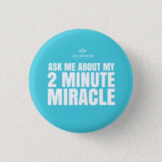 Fragen Sie mich über mein winziges Wunder 2 - Runder Button 3,2 Cm