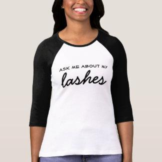 Fragen Sie mich über meine Peitschen - T-Shirt