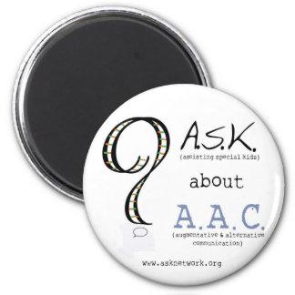 FRAGEN Sie über AAC Magneten - 2 Runder Magnet 5,7 Cm