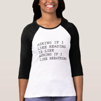 FRAGEN, WENN ICH LESEN MAG T-Shirt