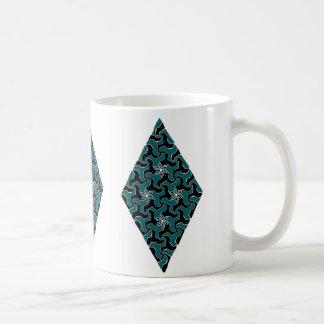 Fraktal-Art-Kunst Kaffeetasse