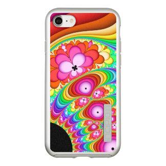Fraktal-Groovy Reise Incipio DualPro Shine iPhone 8/7 Hülle