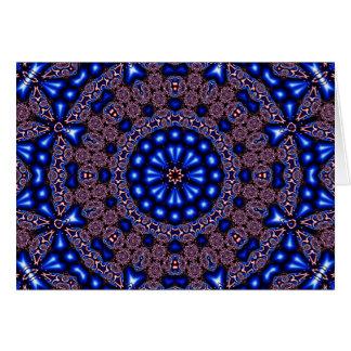 Fraktal-Kaleidoskop-Kunst 670 Karte