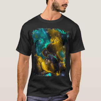 Fraktal-Nebelfleck 4 T-Shirt