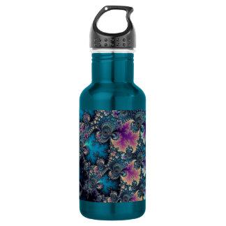 Fraktal-Rebe-Muster Edelstahlflasche
