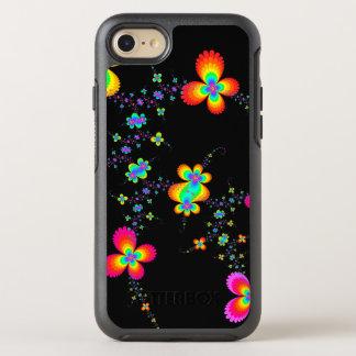 Fraktal-Schmetterlings-Spuren OtterBox Symmetry iPhone 8/7 Hülle