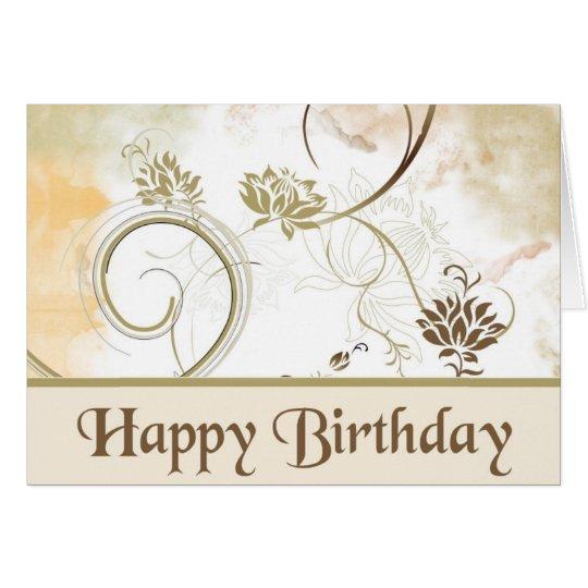 Fraktale - alles Gute zum Geburtstag Karte
