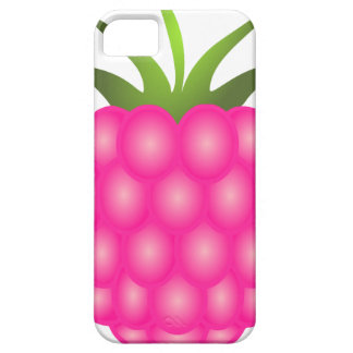 Framboise ou juste baie rose coque iPhone 5