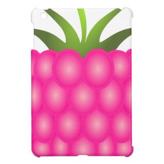 Framboise ou juste baie rose coques pour iPad mini
