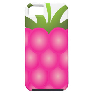 Framboise ou juste baie rose iPhone 5 case
