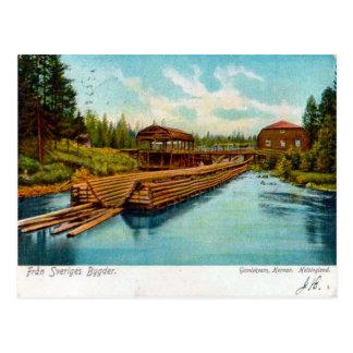 Fran Sveriges Bygder 1912 Postkarte