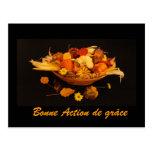 Français : Bon thanksgiving Carte Postale