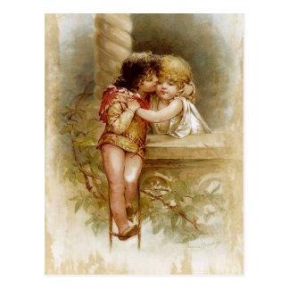 Frances Brundage: Romeo und Juliet Postkarte