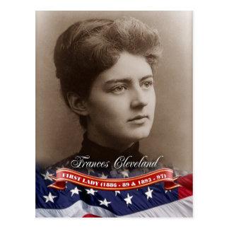 Frances Cleveland, First Lady der US Postkarte