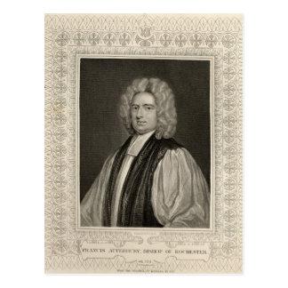 Francis Atterbury, Bischof von Rochester Postkarte