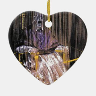 Francis Bacon - schreiende Päpste Keramik Ornament