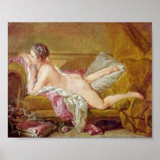 Francois Boucher - Geliebte zu Louis XV Poster