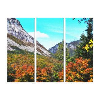 Franconia Kerben-Triptychon Leinwanddruck