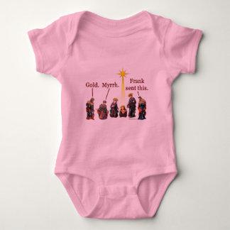 Frank diesem Säuglings-Shirts geschickt Baby Strampler