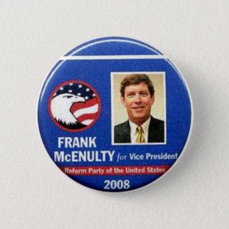 Frank McEnulty für Vizepräsidenten Button
