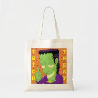 Frankencool Halloween Taschen-Tasche Budget Stoffbeutel