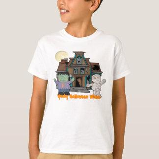 Frankenstein und Mama-Halloween-T - Shirt