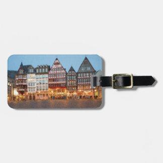 Frankfurt am Main Altstadt Kofferanhänger