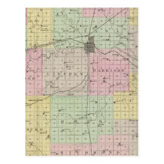 Franklin County, Kansas Postkarte