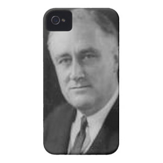 Franklin D Roosevelt iPhone 4 Case-Mate Hülle