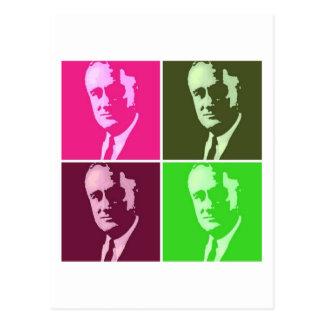 Franklin D. Roosevelt Postkarte