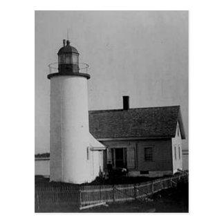Franklin-Insel-Leuchtturm Postkarte