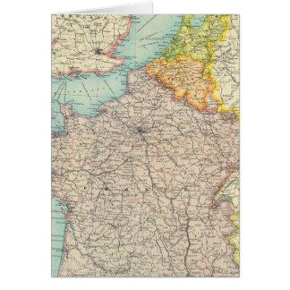 Frankreich, Belgien u. Holland politisch Grußkarte