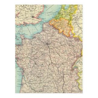 Frankreich, Belgien u. Holland politisch Postkarten