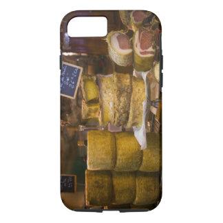 Frankreich, Korsika. Lokale Käse und Charcuterie iPhone 8/7 Hülle