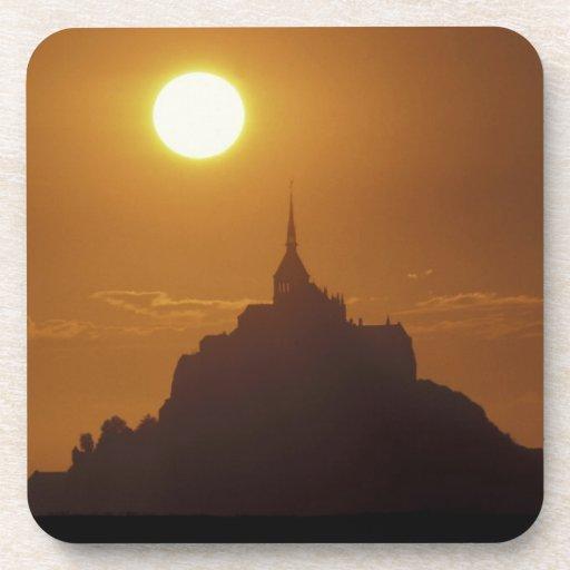 Frankreich, Normandie. Mont Heiliges Michele Untersetzer