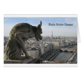 Frankreich Paris Notre Dame (durch St.K) Karte