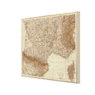 Frankreich S, Korsika Gespannter Galerie Druck