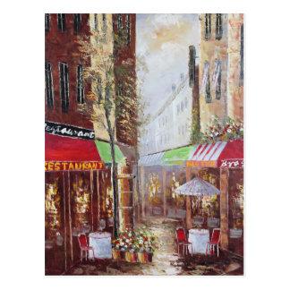 Frankreich-Straßen-Postkarte Postkarte