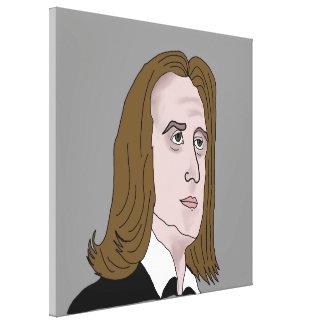 Franz Liszt Leinwanddruck