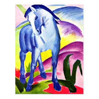Franz Marc - blaues Pferd I Postkarte